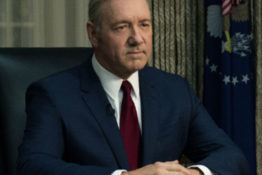 Kevin Spacey's House of Cards character killed off.