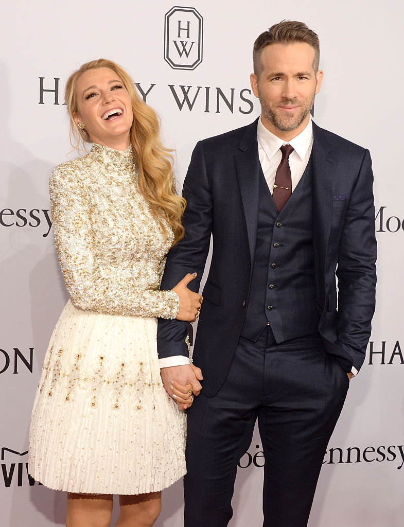 blake lively ryan reynolds gala