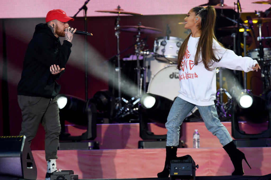 Mac Miller and Ariana Grande perform at One Love Manchester