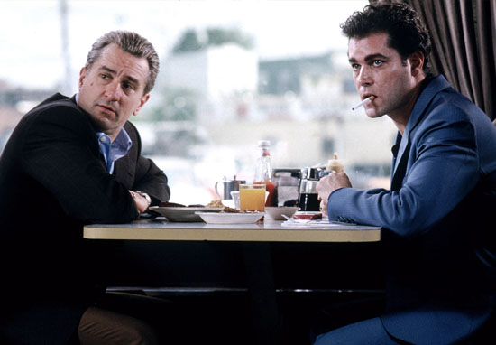 GoodFellas DeNiro and Liotta