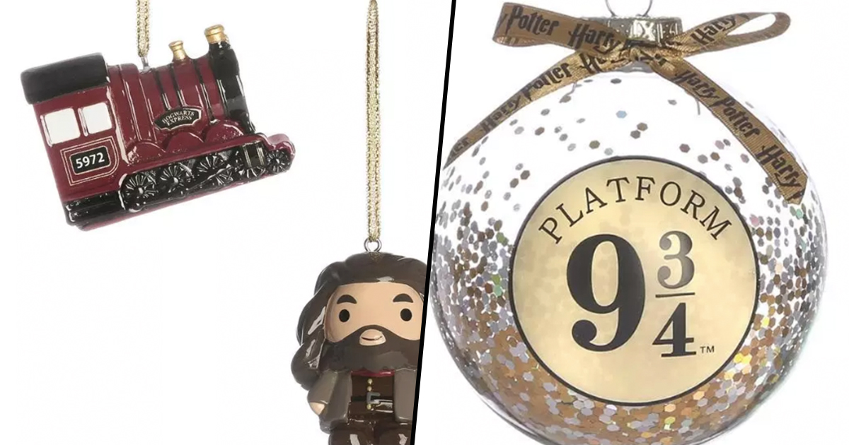 Primark Has Released Harry Potter Christmas Baubles For Just £4