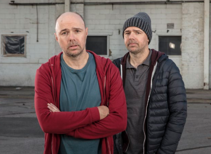 Karl Pilkington and his alter-ego