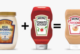 Heniz have released Mayochup.