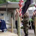 Veterans Build Ramp For Last Surviving WWII Hero In Their Area