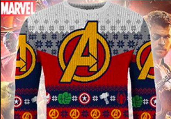 Marvel Release Ugly Christmas Jumpers For 2018