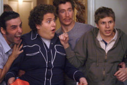 Evan and Seth crash an over 21s party in Superbad
