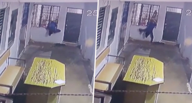 Thief escapes prison