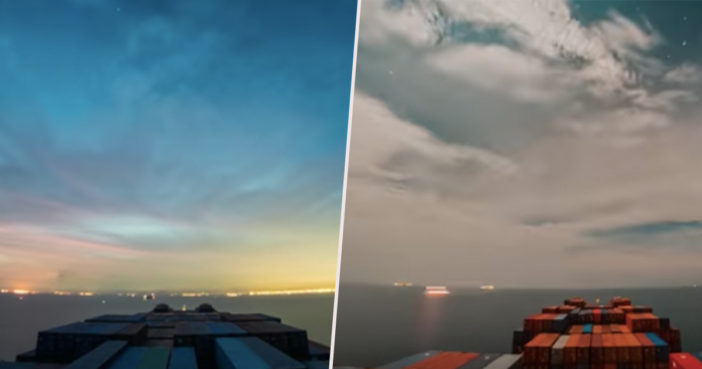 30-Day Time-Lapse Reveals What It's Like To Be Out At Sea