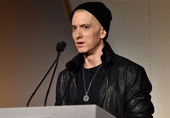 Eminem conspiracy theorists say he could be a robot.