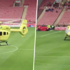 Football Match Postponed As Fan Falls Seriously Ill Before Kick Of
