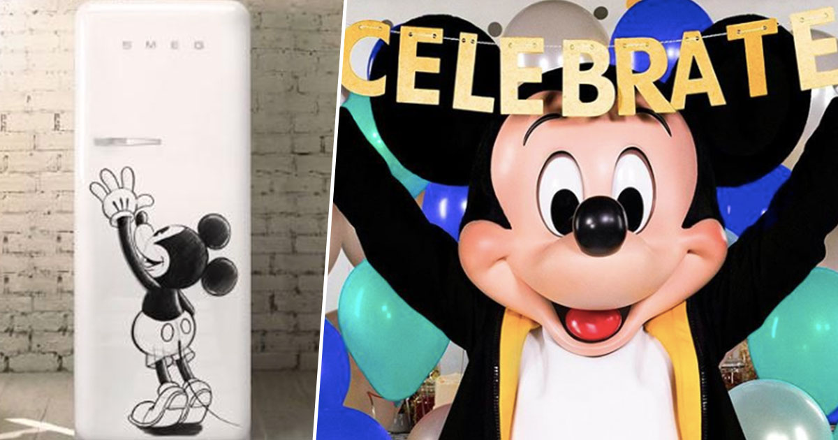 Limited Edition Disney Fridge Now Available And It's Incredible