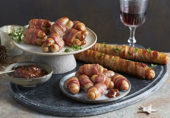 pigs in blankets foot long