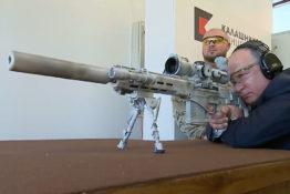 Putin with sniper rifle