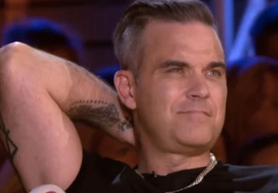 Robbie Williams X Factor