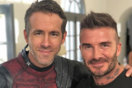 Ryan Reynolds David Beckham