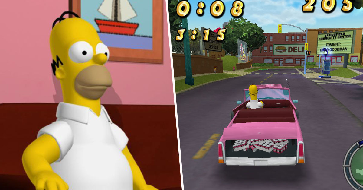 People Are Petitioning For A Simpsons Hit & Run Sequel