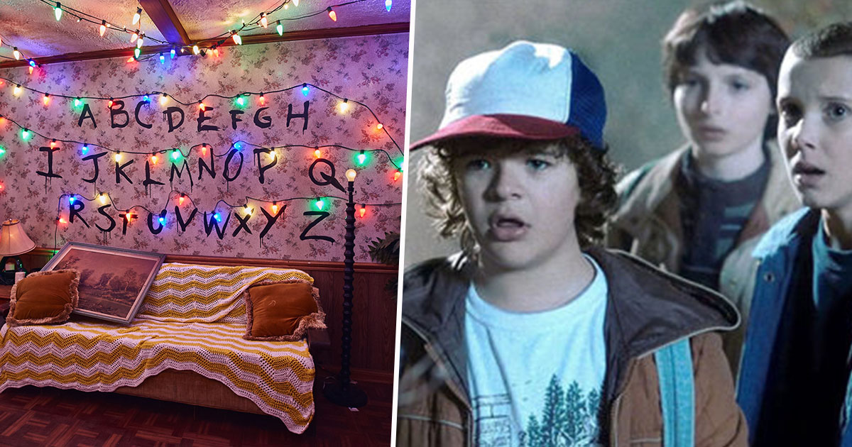 stranger things maze