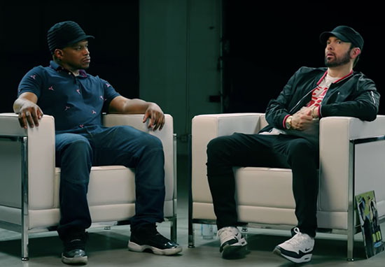 sway interviewing eminem