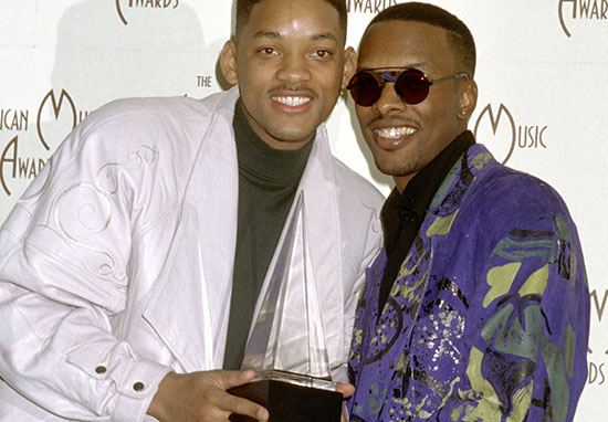 Will Smith Jazzy Jeff at American Music Awards