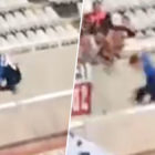 FC Zurich Player Jumps Over Wall To Celebrate Winner And It Ends Terribly