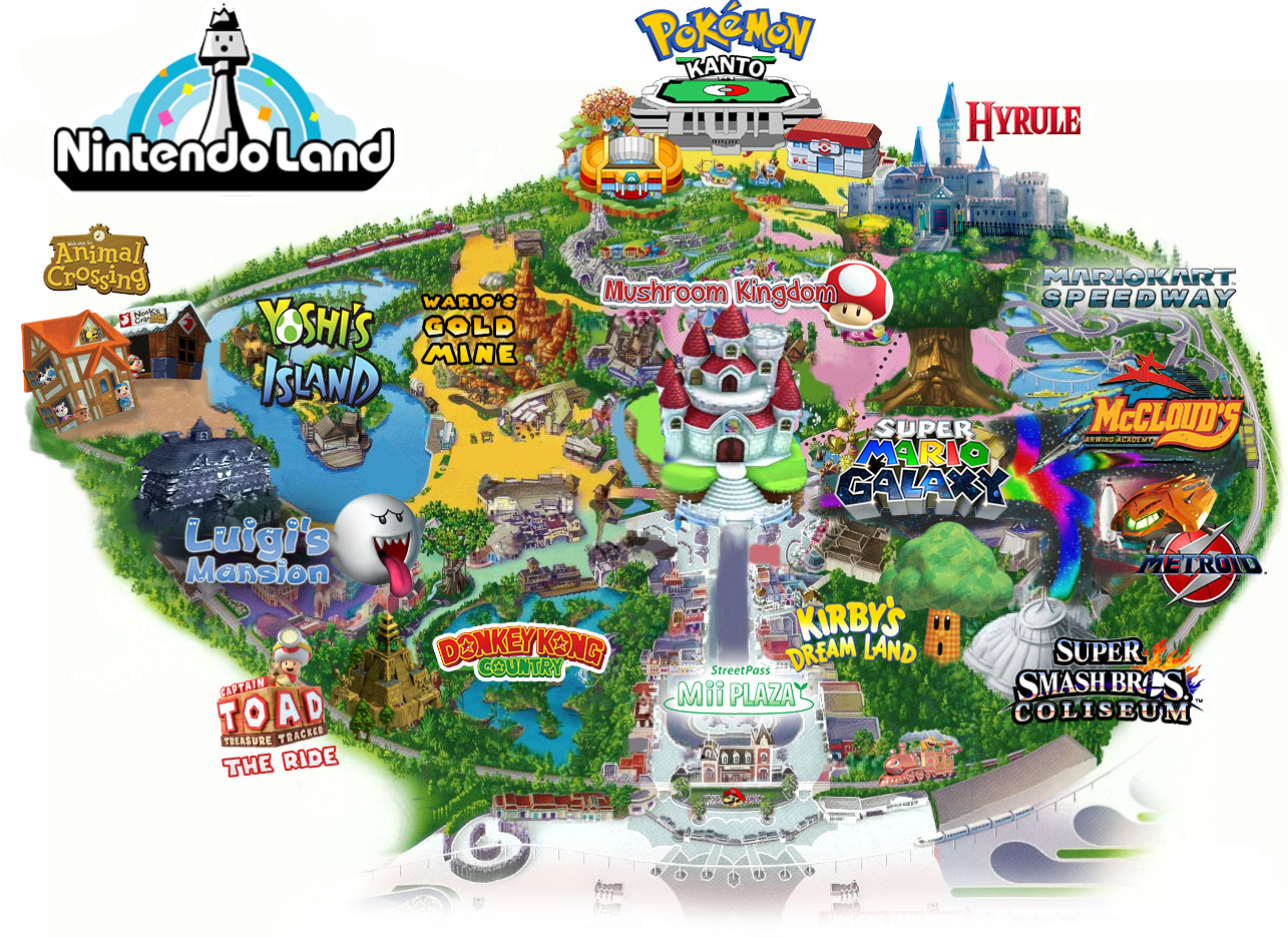 nintendo land plans for Super Nintendo World