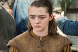 Maisie Williams drops hints about Arya's last scene.