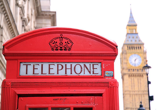 Telephone Box Big Ben