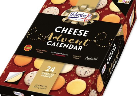 A cheese advent calendar has landed.