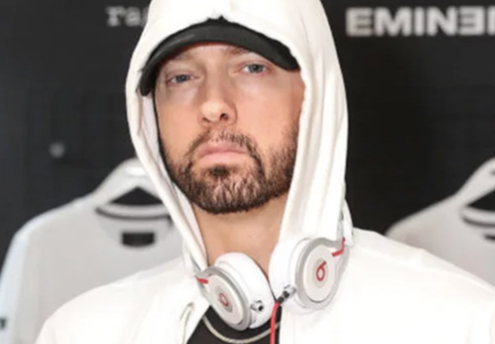 Eminem hood headphones
