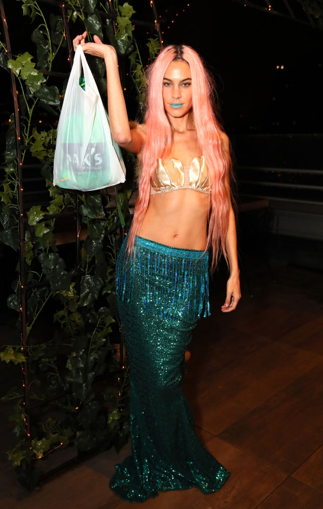 Alexa Chung as a mermaid