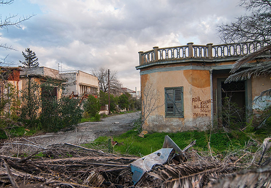 Cyprus ghost town.