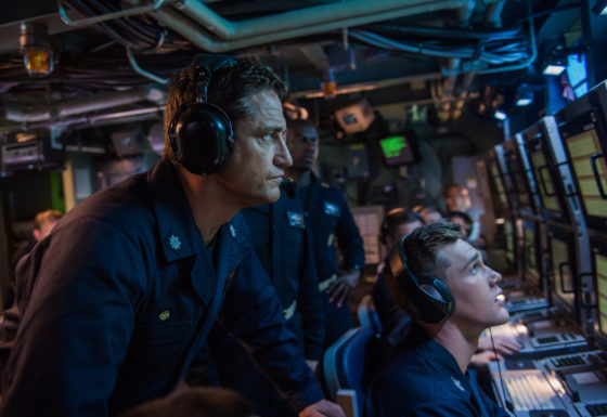 hunter killer gerard butler submarine