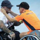 Invictus Athlete With PTSD Comforted By Teammate When Helicopter Flies Over