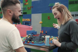 A Lego themed bar has opened in London.