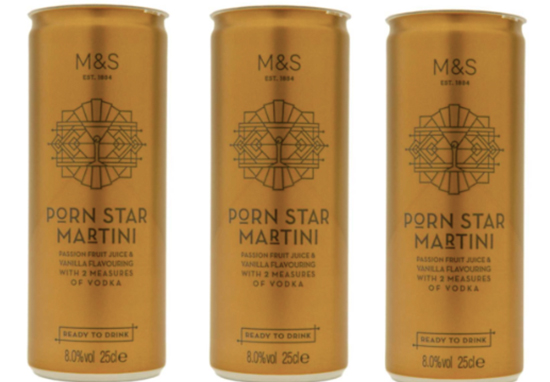 You can now buy cans of Pornstar Martini from M&S