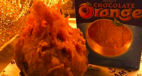 deep fried chocolate orange