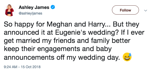 Harry and Meghan wedding announcement