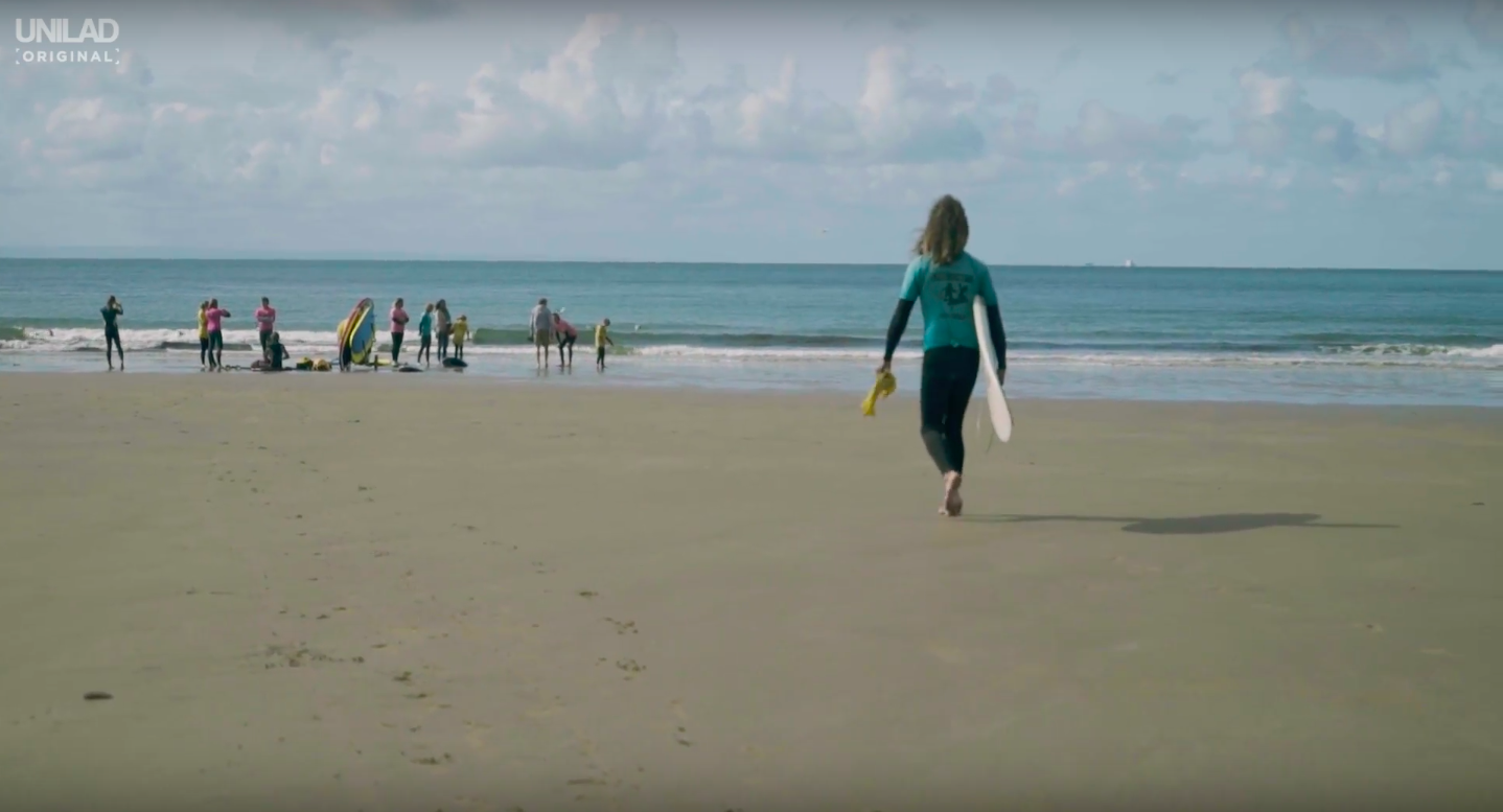 coach who helps disabled kids surf