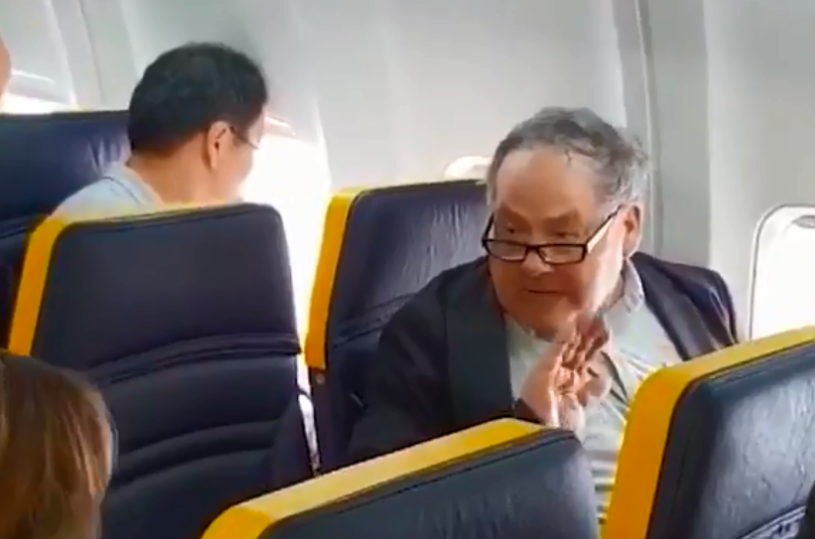 Racist on Ryanair