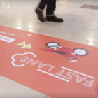 A Shopping Centre Has Introduced A Fast Lane To Help People Avoid Slow Walkers