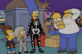 The Simpsons Halloween episode will be number 666.