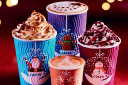 Costa Christmas menu