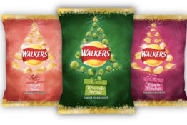 Walkers has launched a festive range.