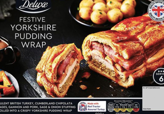 Yorkshire pudding wrap is coming to Lidl.