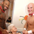 Retirement Home Bosses Hire Naked Butlers As Treat For Elderly Residents
