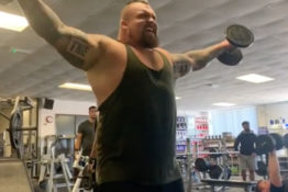eddie hall lifting weights