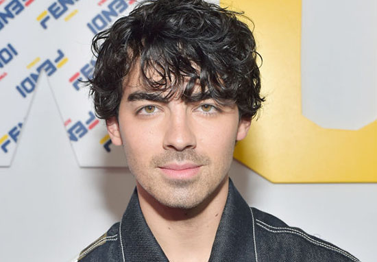 Joe Jonas smiling