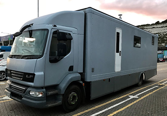 converted lorry