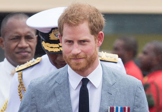 Prince Harry suit