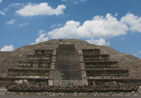 Pyramid of the Moon Mexico